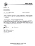 Letter received from Staff Attorney Justin F Kirvan FOIA Officer of the Cook County Treasurer indicatiing that he sent me all relevant documents concerning PIN # 20-11-115-035-0000 and all other documents that I requested in August of 2011.